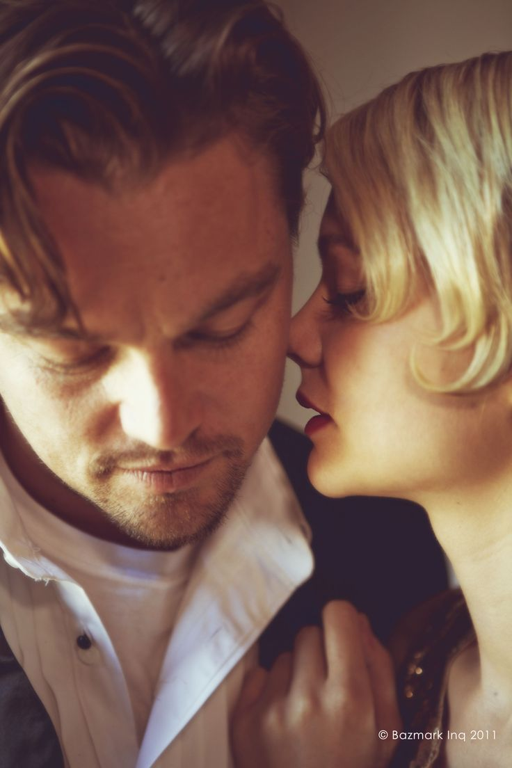 Jay Gatsby and Daisy Buchanan. The Great Gatsby