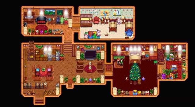 Well, I tried. House Decorating is hard D: | Stardew ...