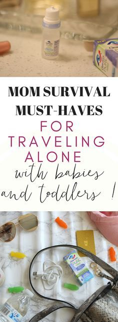 I've traveled alone I've traveled alone with my two toddlers and baby a few times now on both non-stop flights and layovers. It can be exhausting so here's what I pack with me for my personal survival kit! #ShineWithClearEyes #MyShiningMoment #CollectiveBias #ad