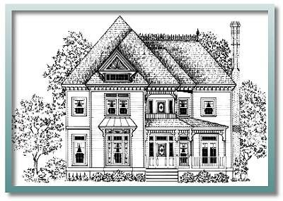Authentic historical designs llc house plan vf2798 for Authentic historical house plans