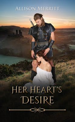 Mythical Books: her desire will unite enemies and raise heroes - Her Heart's Desire by Allison Merritt