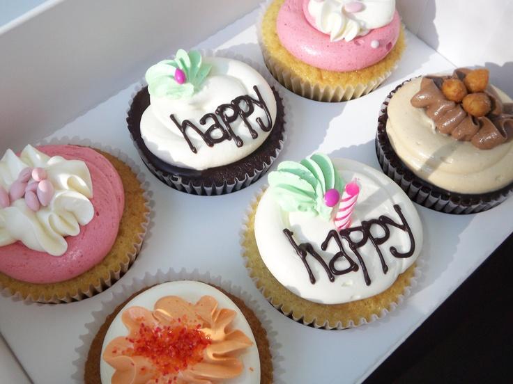 Mom's Birthday Treats From Swirls Cupcakes
