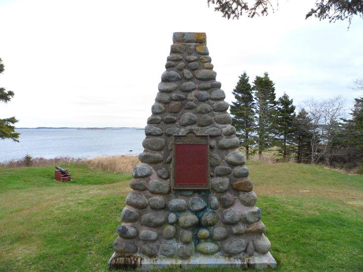 Fort Saint Louis - Port La Tour Nova Scotia
