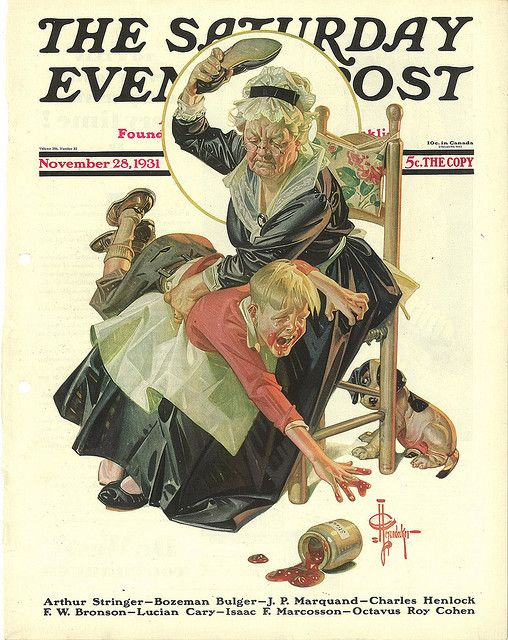 The Saturday Evening Post (November 28, 1931) by J.C. Leyendecker
