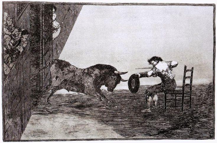 Η γενναιότητα του Martincho στην αρένα της Σαραγόσα (1815-16)