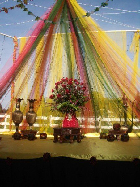 Mehndi Stage Decoration Dailymotion : Best images about wedding mehndi decor stages on