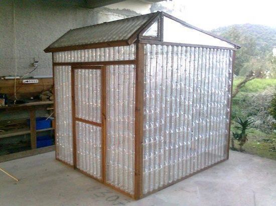 Soda Bottle Greenhouse (What a great idea!) | Knowledge Weighs Nothing