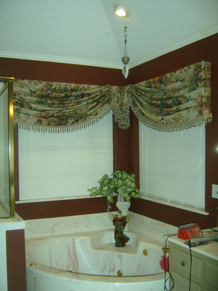 23 best corner window treatments images on Pinterest ...