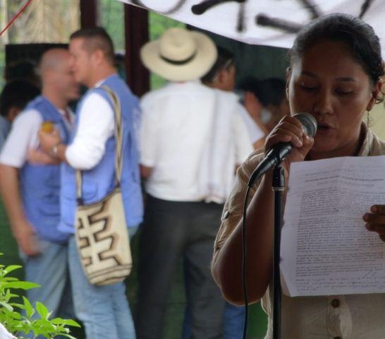 III Encuentro Reserva campesina, mujer, lideresa, ANZORC