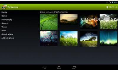 Android Wallpaper Changer, cambia fondo de pantalla o Wallpaper con un solo click