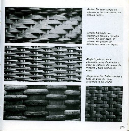 Vimini in carta di giornale (vimini cinese) (p. 27)   Imparare Crafts è…