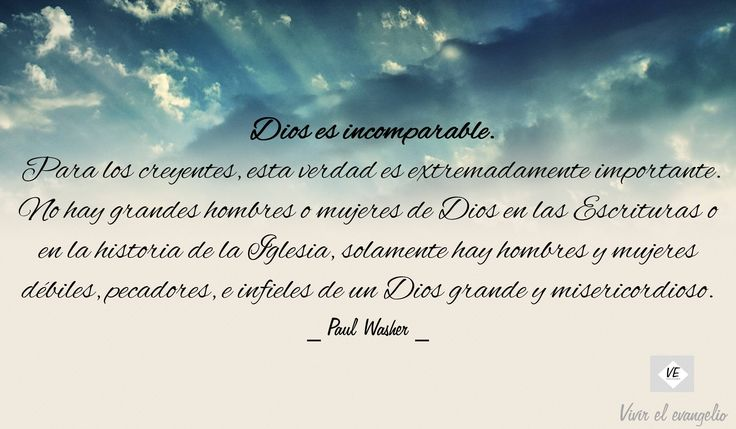 Dios Incomparable