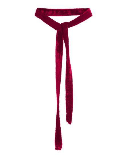 LH's Basic Velvet Choker Necklace MAGENTA #Velvet #Choker #Necklace #MAGENTA #silk #laurahincu