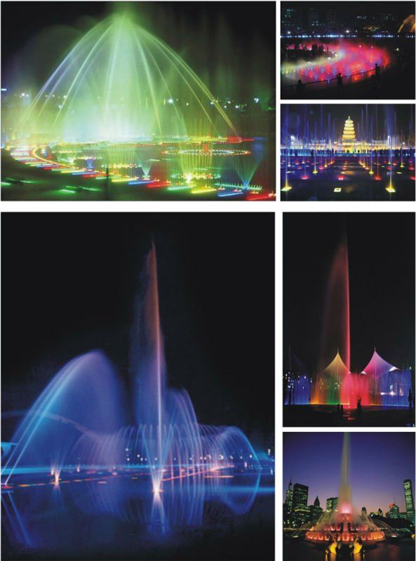 LED Fountains Light www.emit-led.com paris@emitig.com