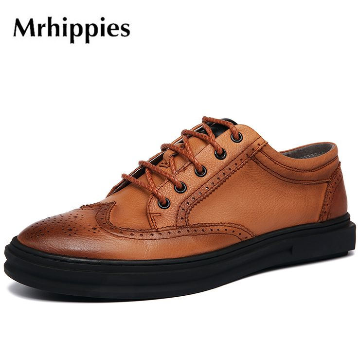 >> Click to Buy << mrhippies 2017 Spring New England men's casual shoes oxfords breathable men brogue shoes spring flats single shoes #A63-1 #Affiliate