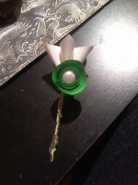 CORSAGE UOMO E DONNA kusudama origami paper carta di BOMBOSTEFY