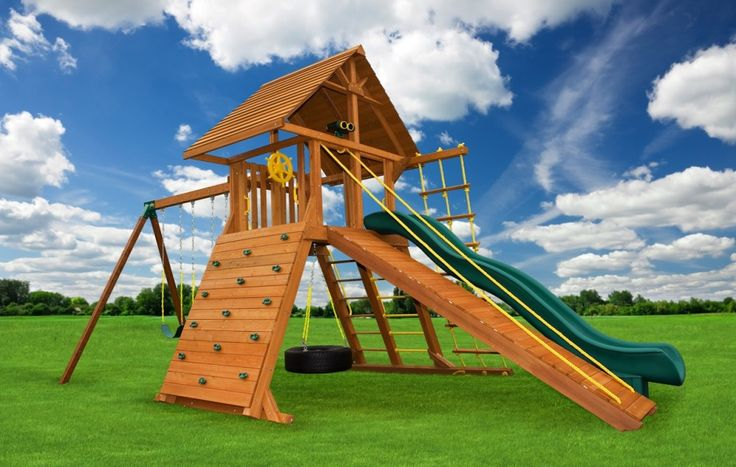 Angled-Base Extreme | Swing Sets On Sale | Eastern Jungle Gym