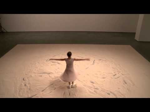 Belgian dancer/choreographer Anne Teresa De Keersmaeker draws her dance… Performance 13: On Line/Anne Teresa De Keersmaeker Jan 12-16, 2011
