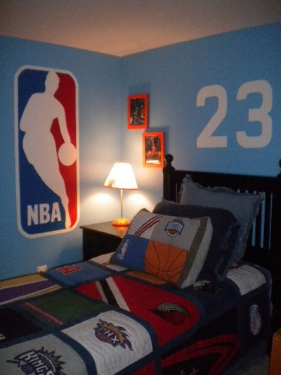 Boys Basketball Bedroom Ideas | room: Children's Room, Contemporary room by Monkey Business Designs