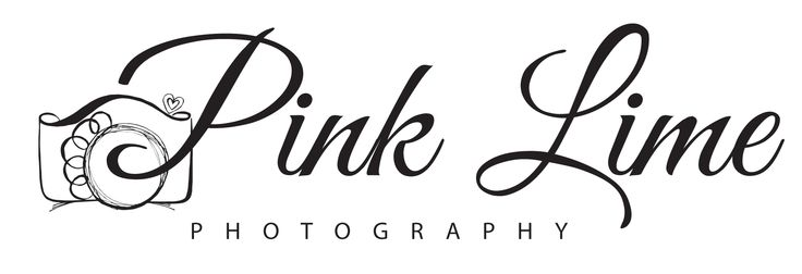 Pink Lime Photography Identity Design