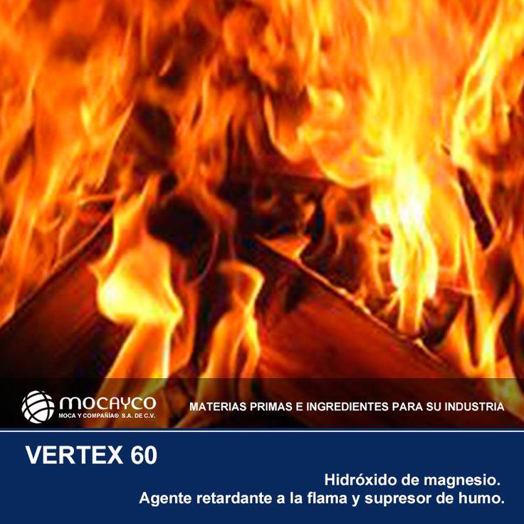 VERTEX 60. Hidróxido de magnesio. Agente retardante a la flama y supresor de humo.