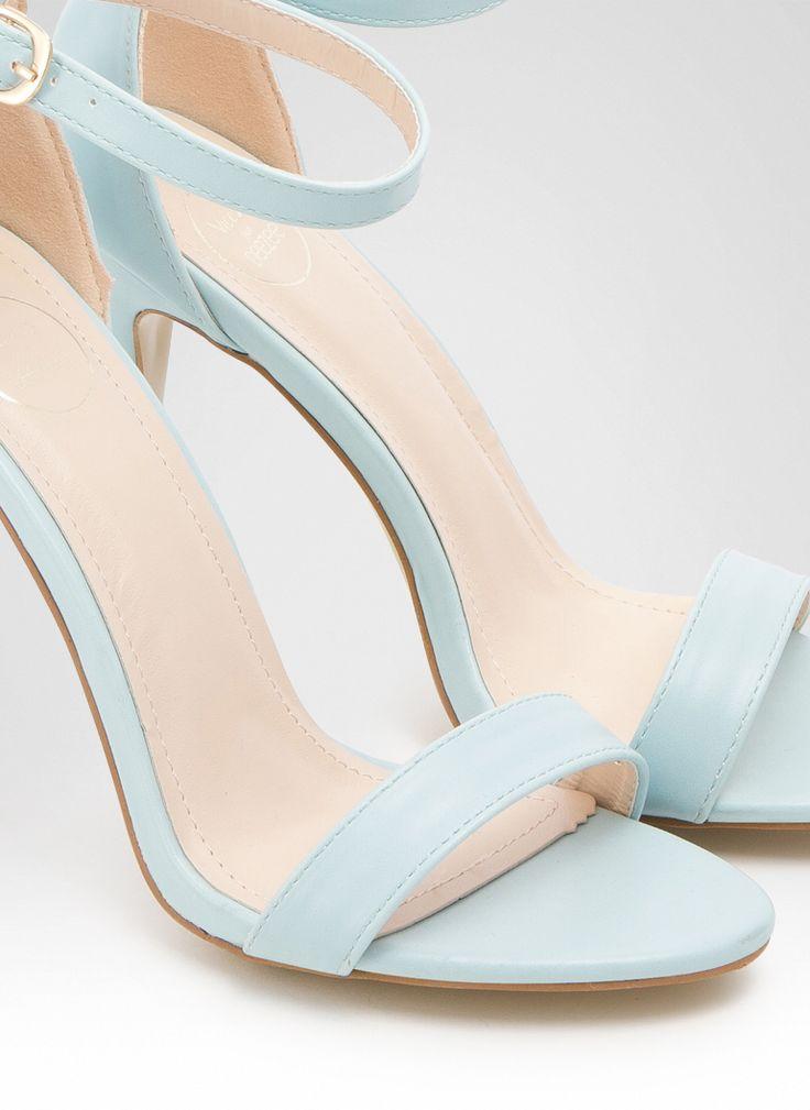 Sandałki Brooke Blue Pu Sandals / Sandały / Obuwie damskie - Modne buty, stylowe ubrania i obuwie damskie, sklep z butami i ubraniami, modne buty letnie i zimowe - DeeZee.pl