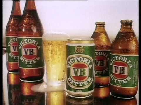 Victoria Bitter TV ads 1968-1996 To the memory of John Meillon the owner of that great voice.