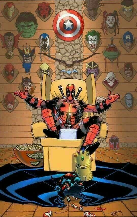 Fondos de pantalla Deadpool