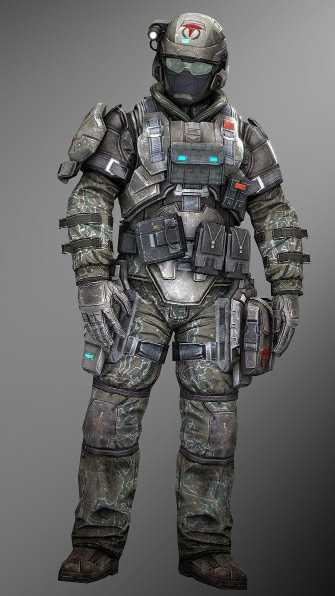 UNSC Medic Dude by SuperNinjaNub