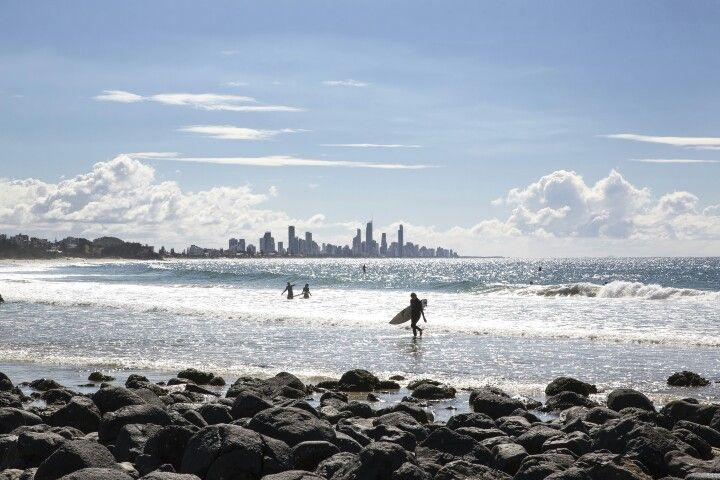 View from Burleigh Heads #goldcoast #travel #queensland #surf #thisisqueendland