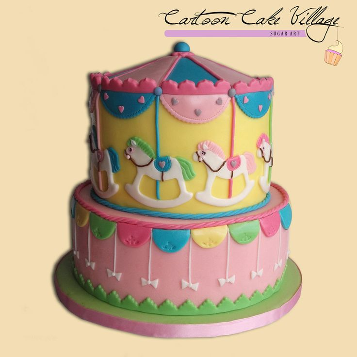 Cartoon Cake Village