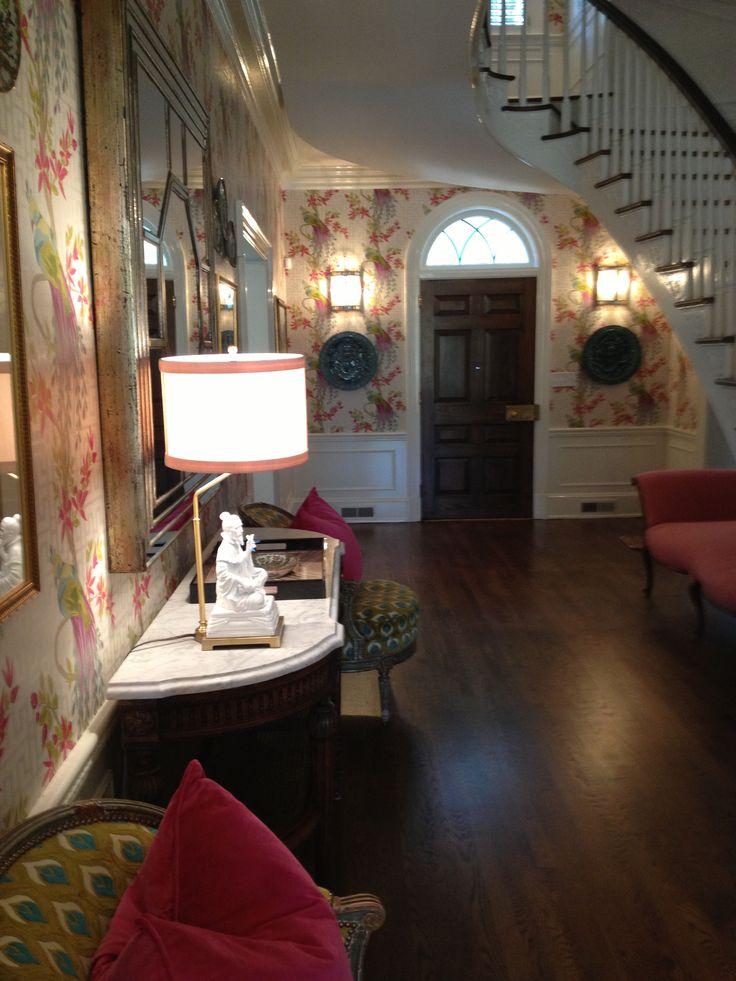 Foyer Wallpaper Love : Best foyer wallpaper ideas on pinterest