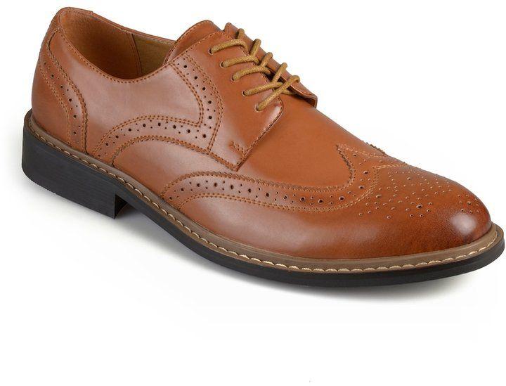 Vance Co Butch Men S Wingtip Dress Shoes