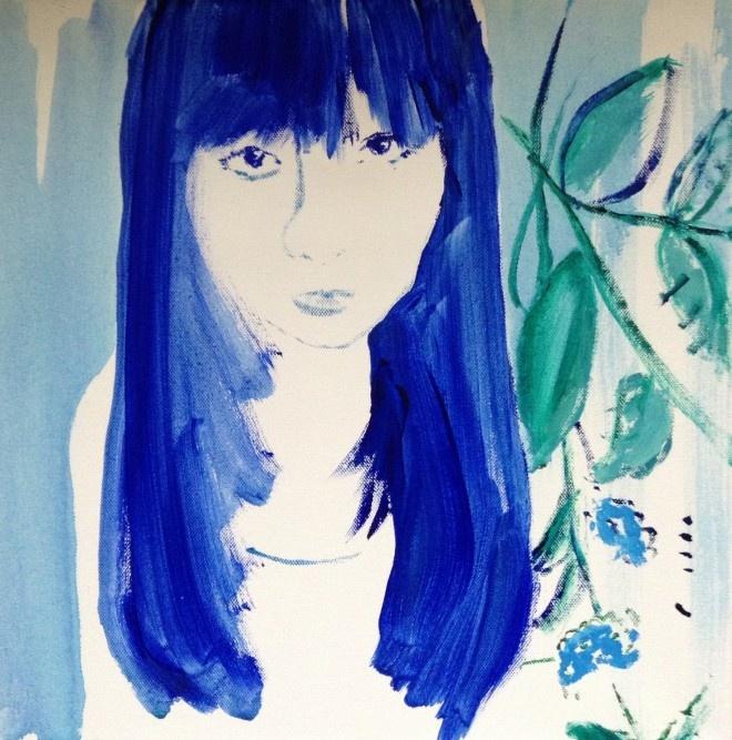 Katleen Dutton In My Garden- Skylark galleries at Oxo