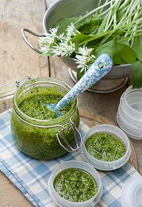 Wild Garlic Pesto recipe: http://www.laundryetc.co.uk/2010/05/11/where-the-wild-garlic-lives/