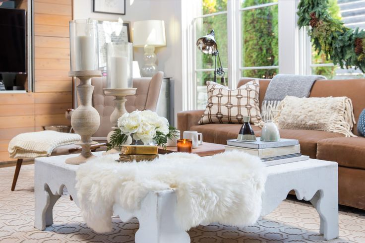 Casual Elegance In A Modern Holiday Home. Home FurnishingsLumbar PillowThe  RoomCoffee Table DesignCasual EleganceModern FamilyInterior DecoratingPlush Cozy