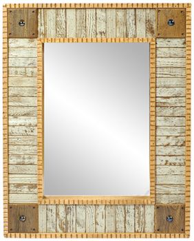 Slat Mirror By David Marsh | Furniture, Home Decorative Accents