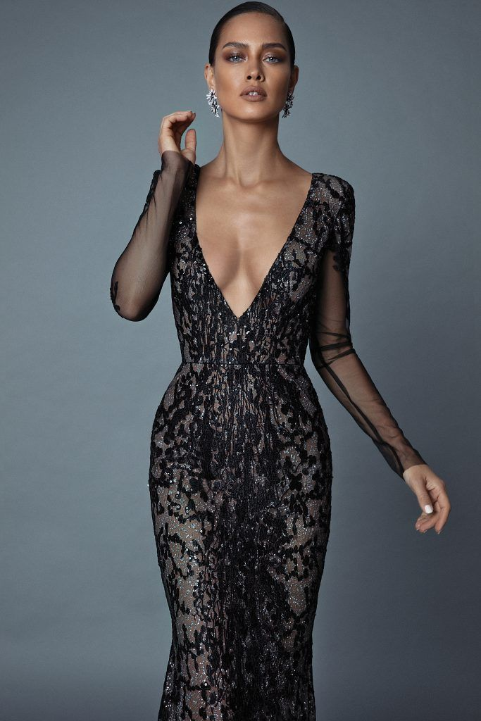 Vestiti Eleganti E Sensuali.Collezione Da Sera By Berta F W 2019 Per Invitate A Nozze Eleganti
