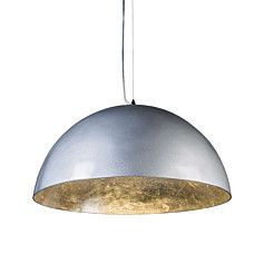 Pendant Lamp Magna Glossy  55cm Silver with Silver - 90245
