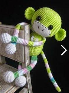 Amigurumi Tutorial Mono : 17 mejores ideas sobre Munecos De Ganchillo en Pinterest ...