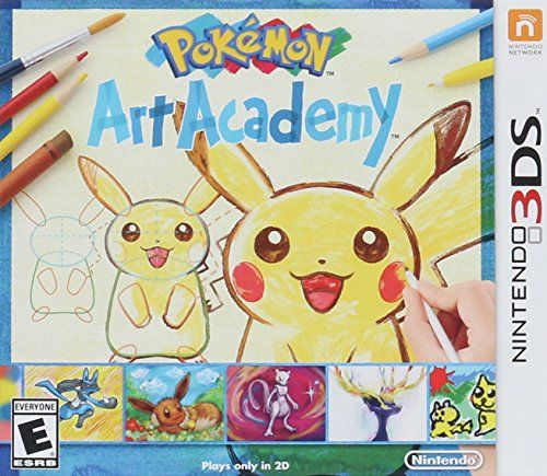 Pokemon Art Academy – 3DS [Digital Code] Grab your stylus and start your Pokémon-drawing journey in Pokémon Art Academy, launching this fall exclusively on the Nintendo 3DS and Nintendo 2DS systems.This Pokémon-themed installment of the Art Academy series offers Pokémon fans and budding illustrators alike 40 unique lessons to learn how to paint, sketch and draw beloved Pokémon characters in 2D.Along the way, students of Pokémon Art Academy can pick up actual illustration skills th..