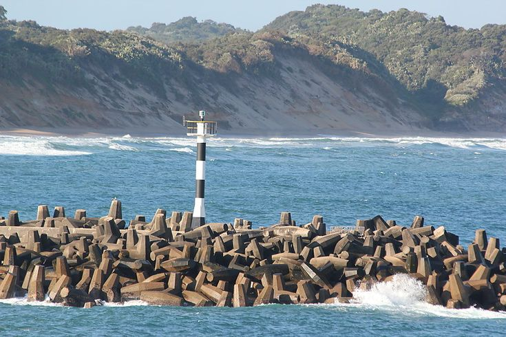 Richards BayvNorth Breakwater #Lighthouse  -  Alkantstrand   -   http://dennisharper.lnf.com/