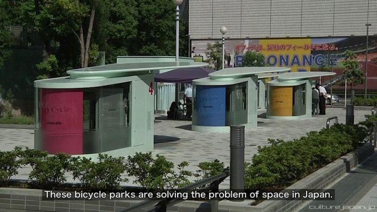 Japan S Automated Underground Bike Storage 171 Twistedsifter