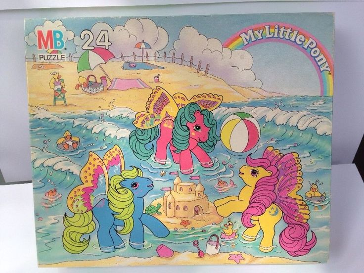 My Little Pony Puzzle Vintage 1988 G1 | eBay