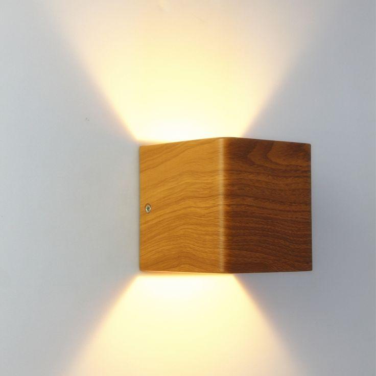 31.68$  Buy here - https://alitems.com/g/1e8d114494b01f4c715516525dc3e8/?i=5&ulp=https%3A%2F%2Fwww.aliexpress.com%2Fitem%2FWood-Grain-Wall-Lamp-10-10-10cm-Aluminum-90-260V-5W-Led-2016-New-Design-Bedroom%2F32691562003.html - Wood Grain Wall Lamp 10*10*10cm Aluminum 90~260V 5W Led 2016 New Design Bedroom Reading Lights Led Stair Lighting WWL001