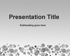 Data Mining PowerPoint Template is a simple grey template with stain spots in the footer of the slide design and very useful for data mining projects or presentations for data mining