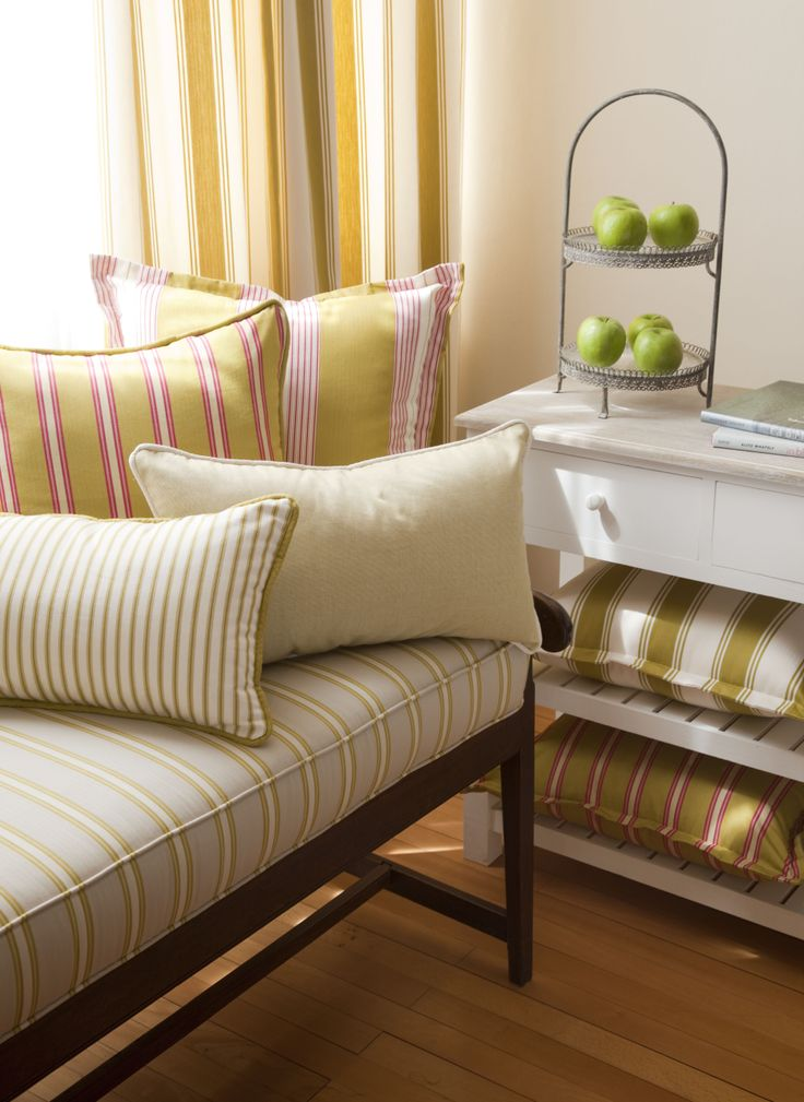 Stamford Collection of cotton ticking stripes from Svenmill Ltd