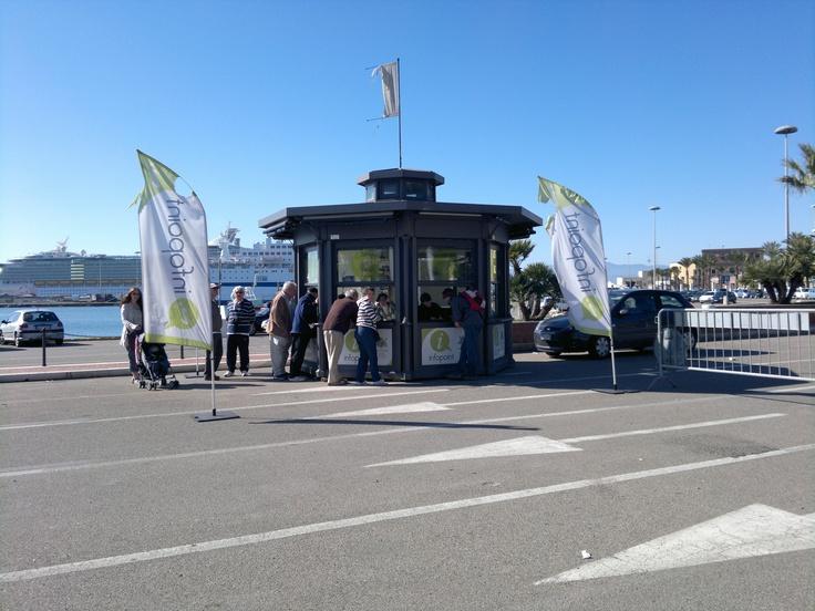 Infopoint Molo Sanità - Stazione Marittima