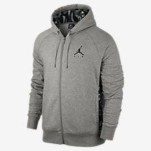 Jordan Jumpman Printed Brushed Full-Zip Sudadera con capucha - Hombre. Nike. com