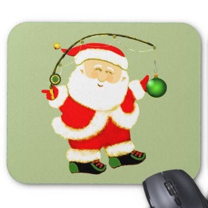 fishing holidays mouse pad - holidays diy custom design cyo holiday family